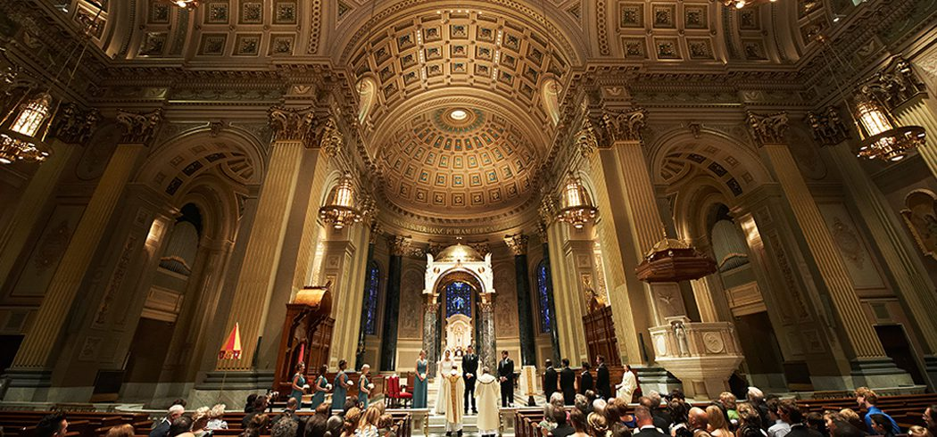 Wedding ceremony in Church in Philadelphia, PA - Event Planning