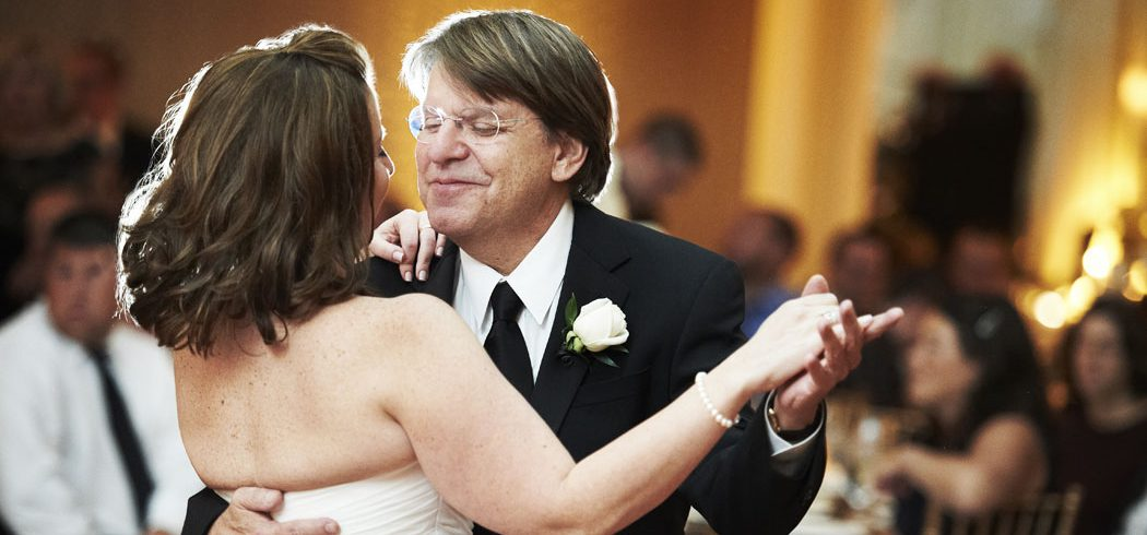 Bride and Father of the Bride dance during wedding reception in Philadelphia, PA - Event Planner